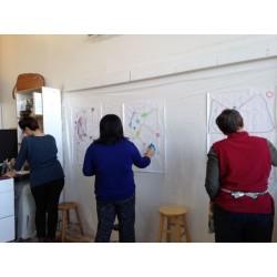 Atelier de peinture abstraite - Adultes - MTL - Ville Marie