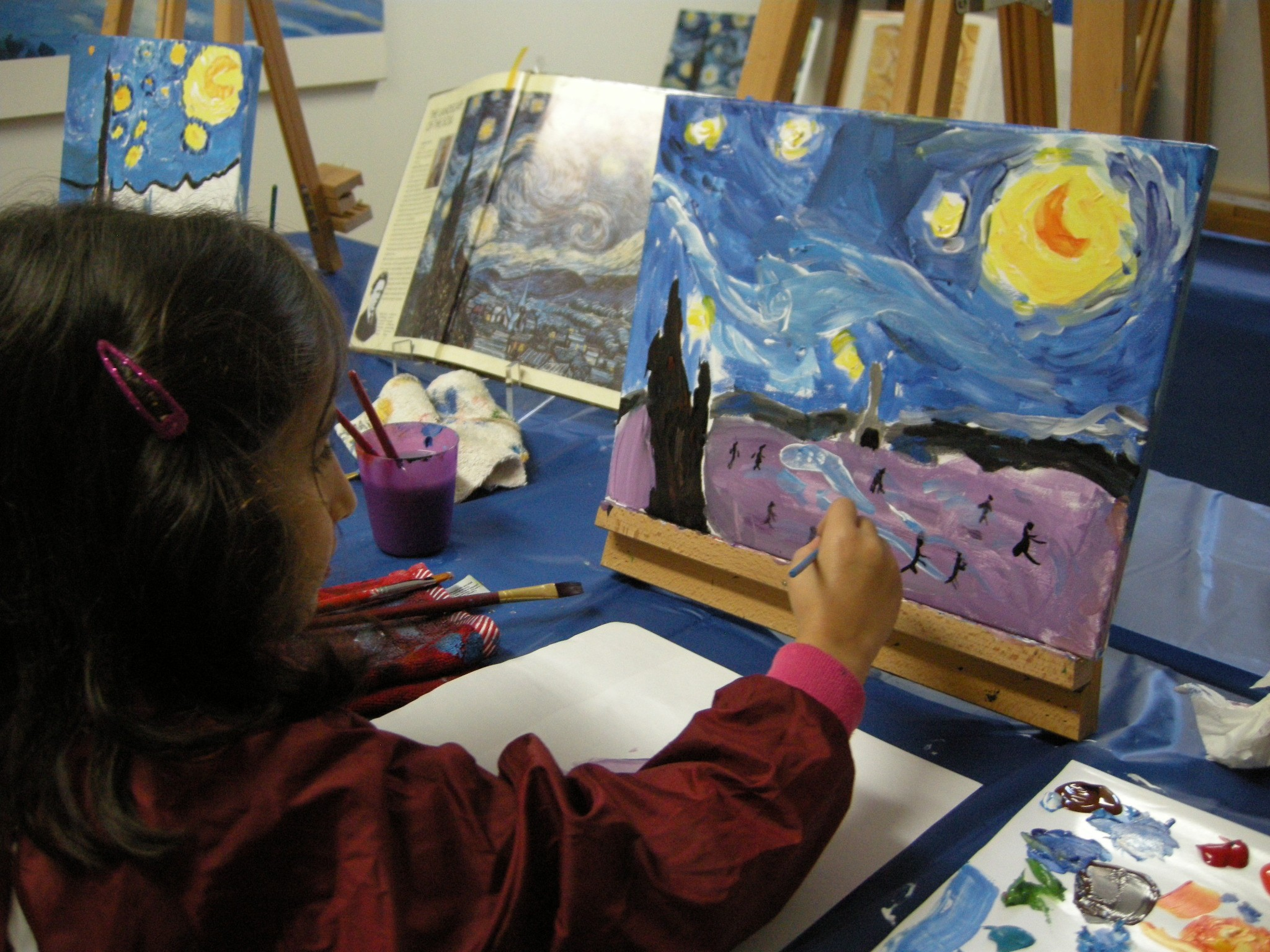 Painting and drawing classes for children ( 6 to 10 years) in English