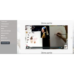 Online painting classes - In French