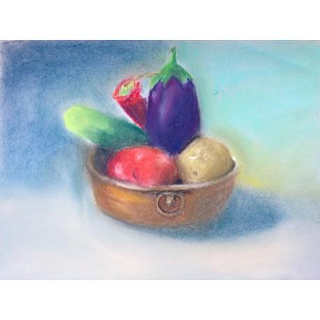 Dry pastel Workshop - Adults - MTL - Ville Marie