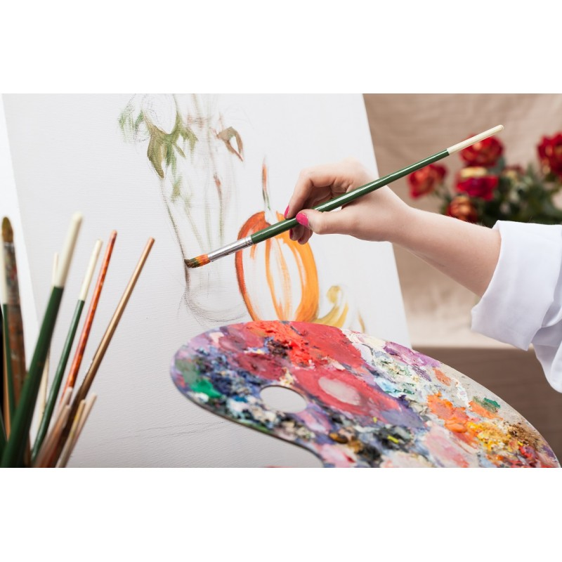 Beginners oil or acrylic painting classes in longueuil for Canvas painting classes