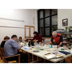 Beginners watercolor Workshop - Adults - MTL - Ville Marie